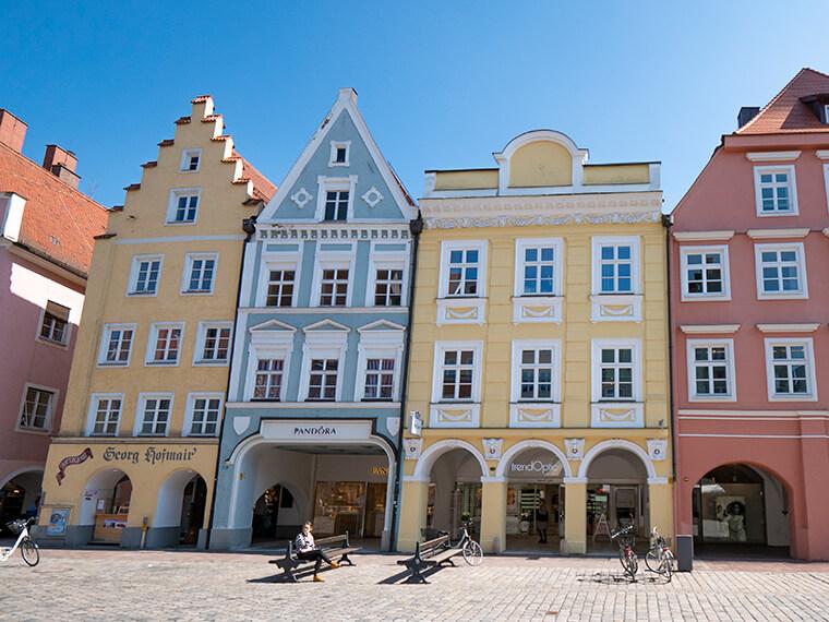 Außenaufnahme der Rechtsanwaltskanzlei in Landshut